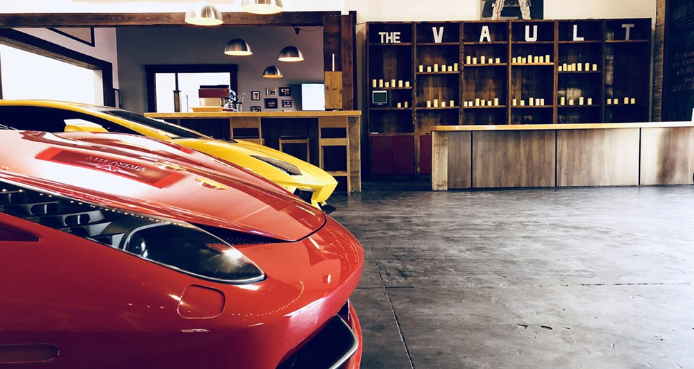 Vault San Diego Cars inside the Event Venue
